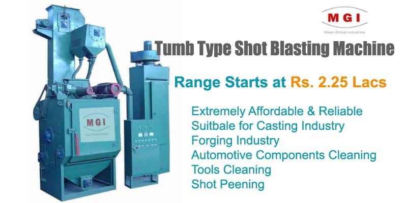 Manufacturer Of Tumblast Shot Blasting Machine In