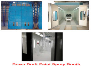paint spray booth Down Draft uae