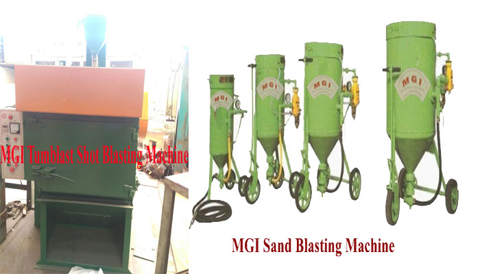 Shot blasting machine manufacturers jodhpur