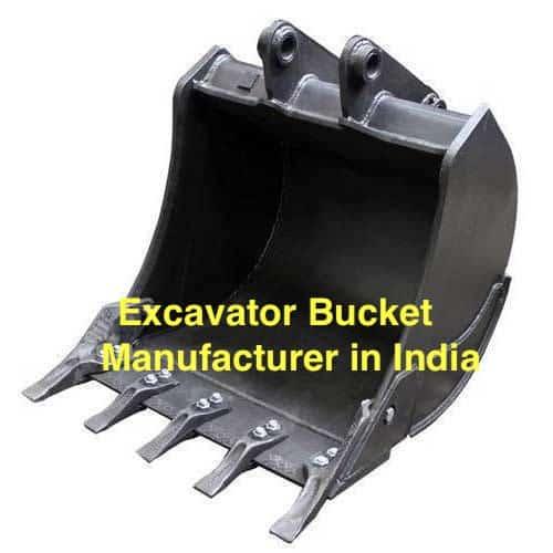 excavator bucket manufacturer India