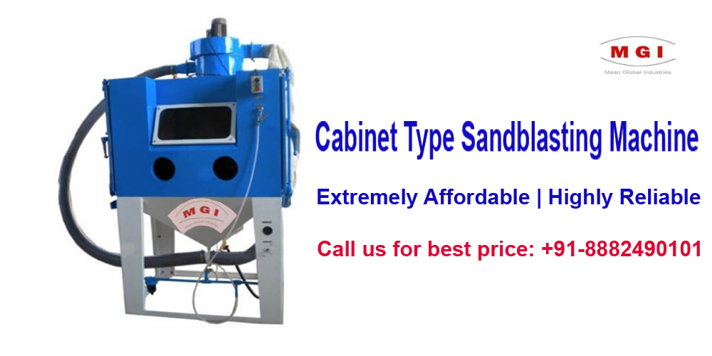 sandblasting machine manufacturer