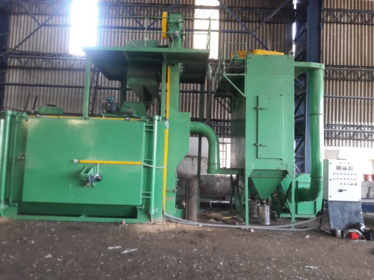 shot blasting machine supplier