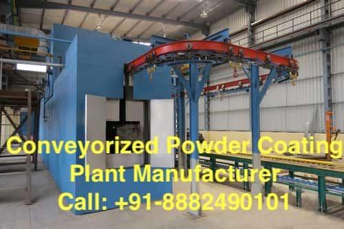 conveyor powder coating plant manufacturer