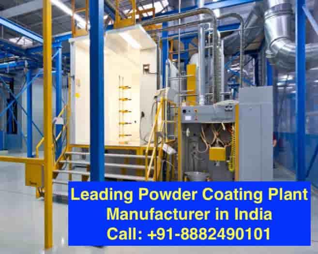 powder coating plant manufacturer