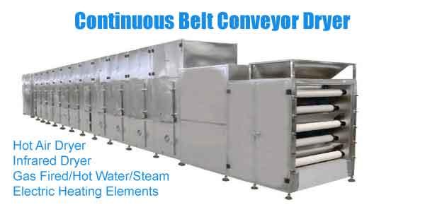 conveyor dehydrator manufacturer
