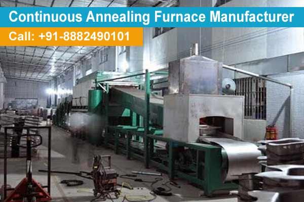 annealing furnace installation